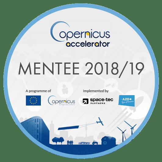 Badge Copernicus Accelerator Mentee